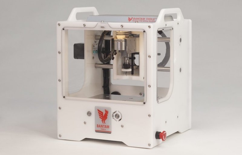 Bantam Tools' Desktop PCB Milling Machine