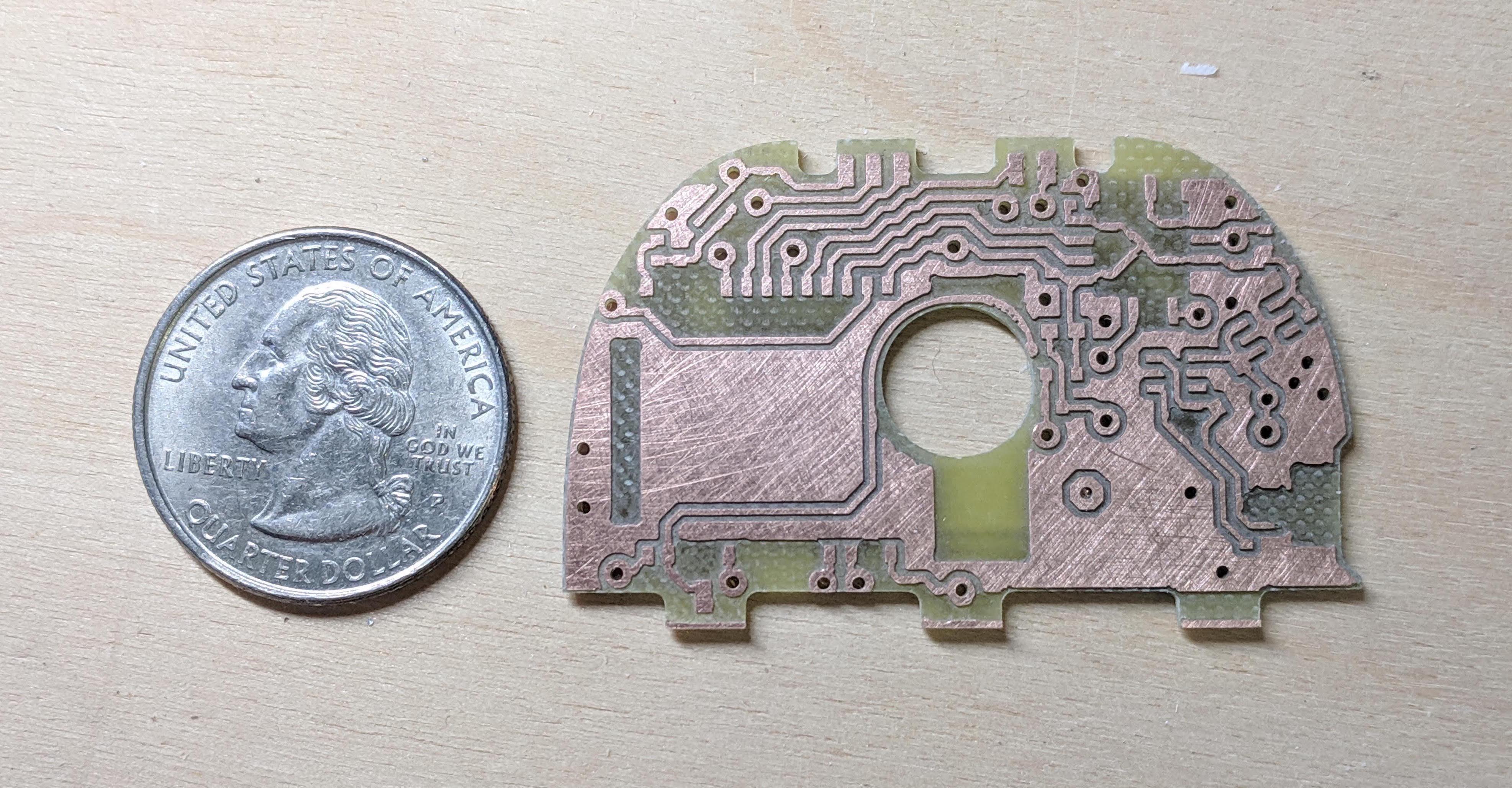 The main PCB