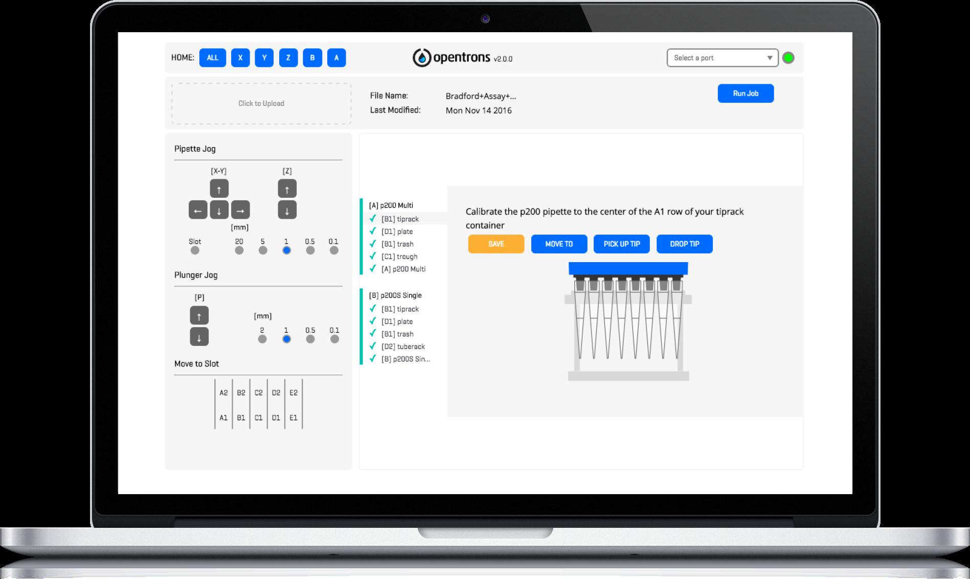 Opentrons Platform Prototype