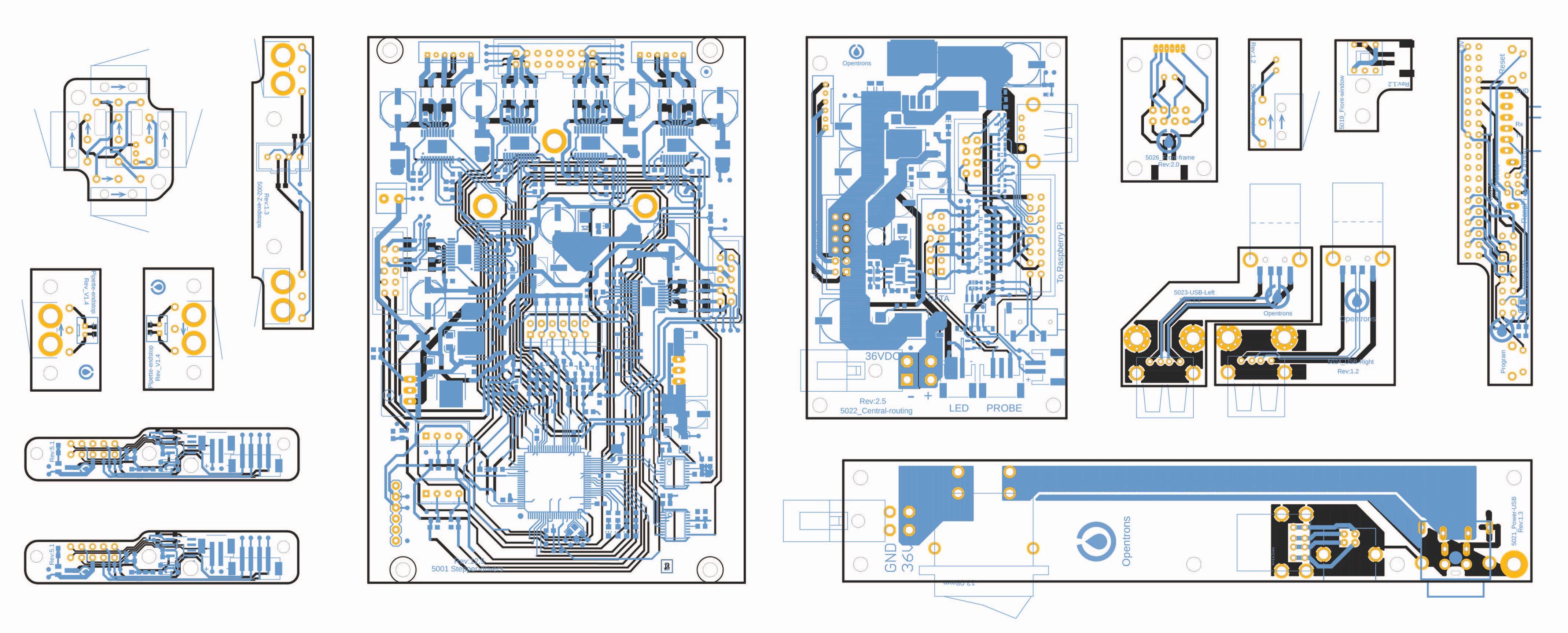OT2 Liquid Handler Electronics